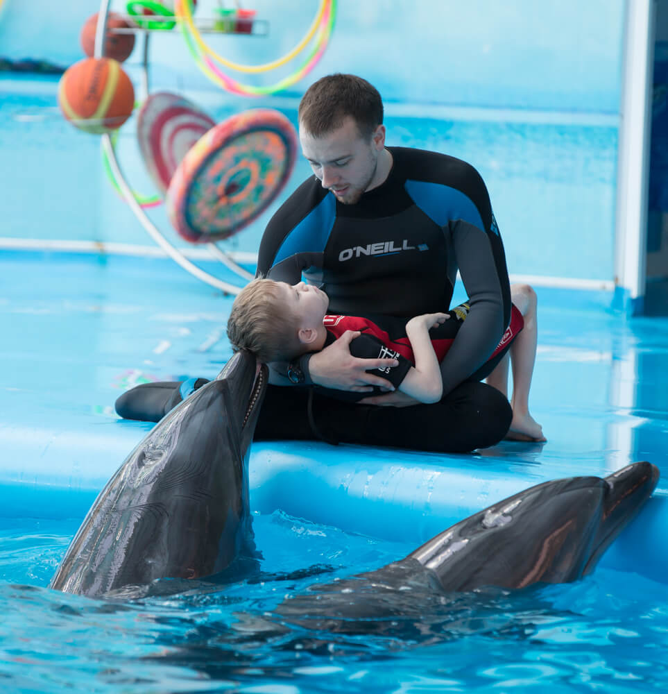 Dolphin therapy in Theodosia all year round, photo 1